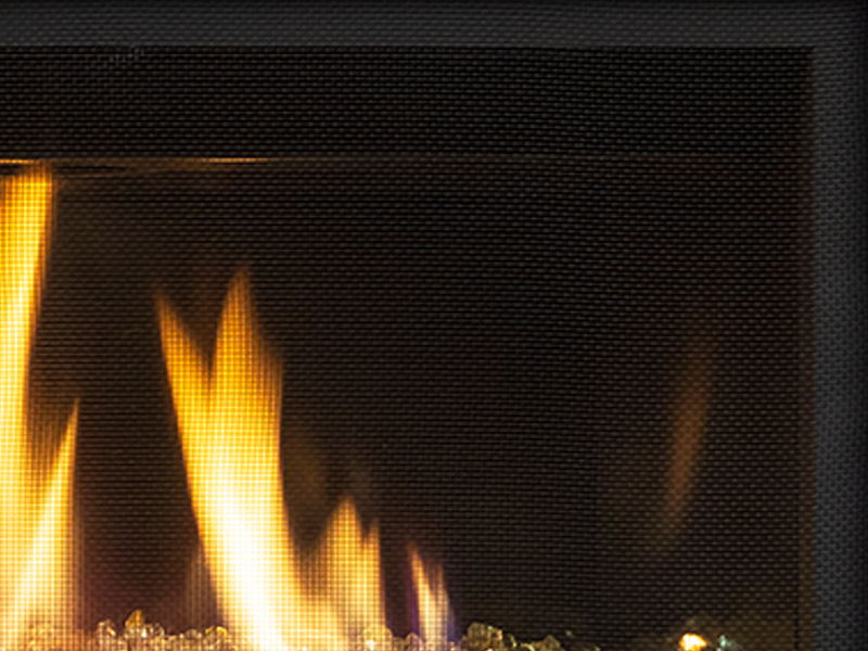 Black Firebox Liner