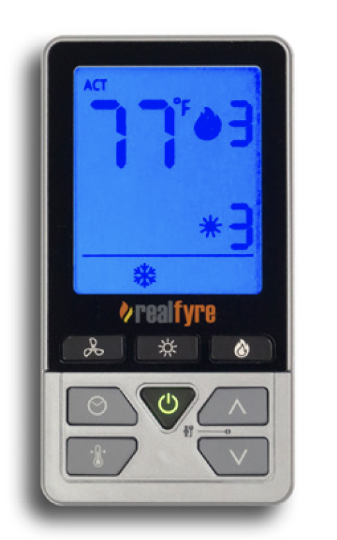 Multi feature remote control system. (For use with DVIT and DVIC models)